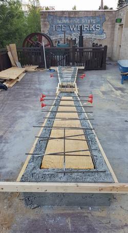 Disney Springs - Concrete Benches - Prep1