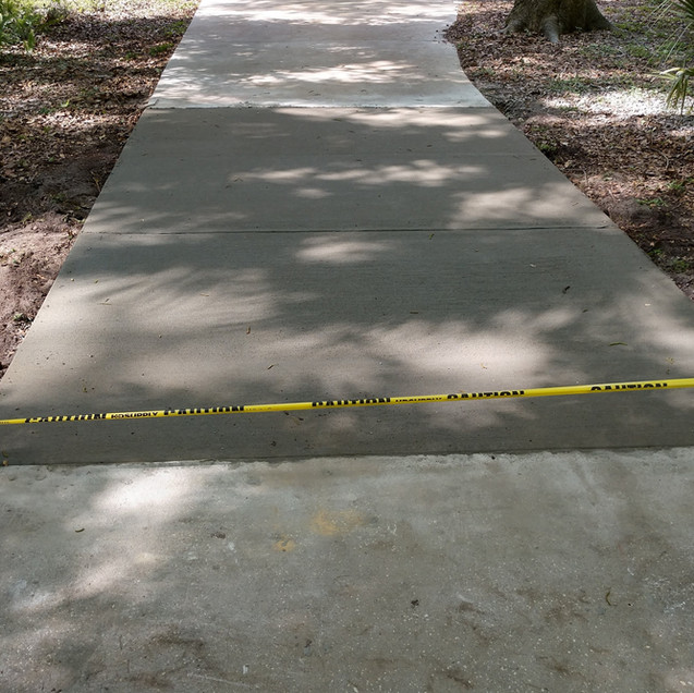 Driveway Section Replacement