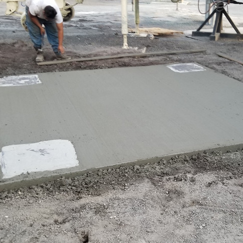 Industrial strength pad - After