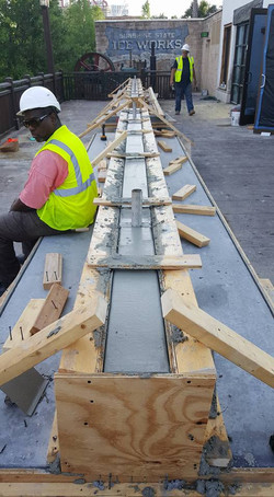 Disney Springs - Concrete Benches - Pour