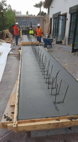 Disney Springs - Concrete Benches - Prep2