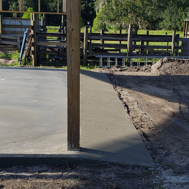 Pole Barn Slab Replacement