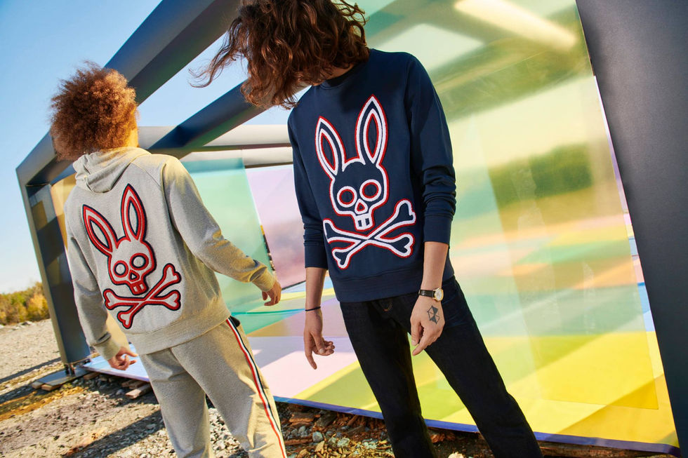 Campagne Psycho Bunny Holidays 2020