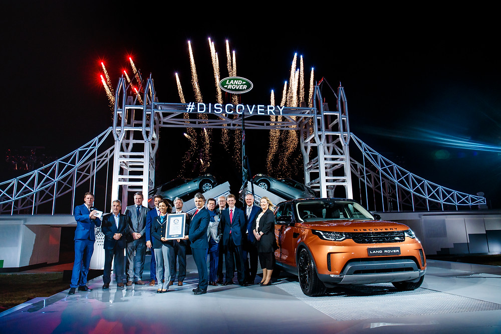 Land Rover Discovery Reveal