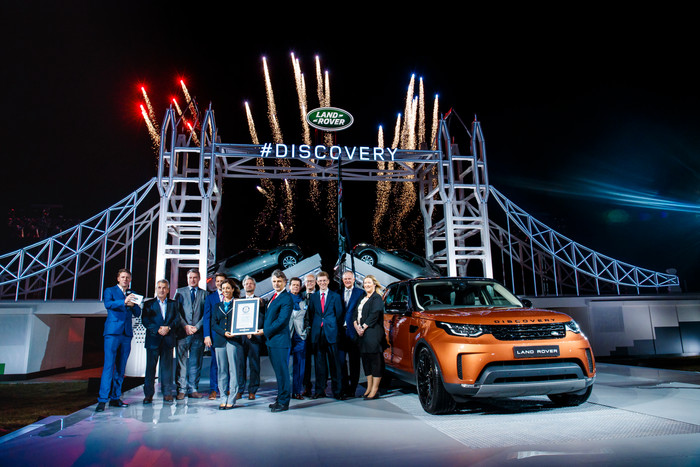 Land Rover Reveal New Discovery