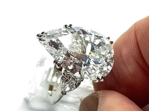 Stunning 91 carat Pear Shape