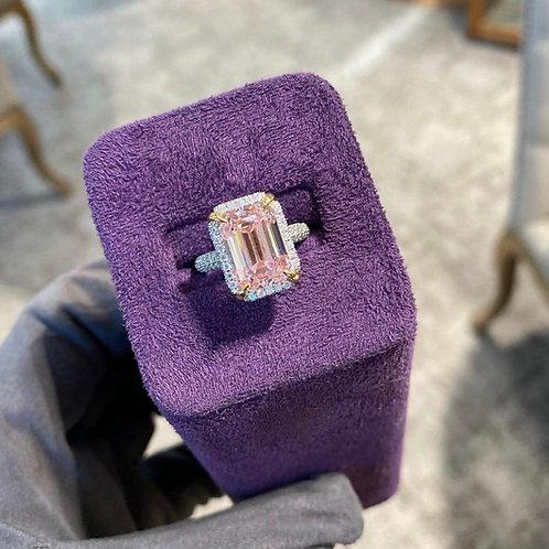Stunning 6.03 carat pink diamond