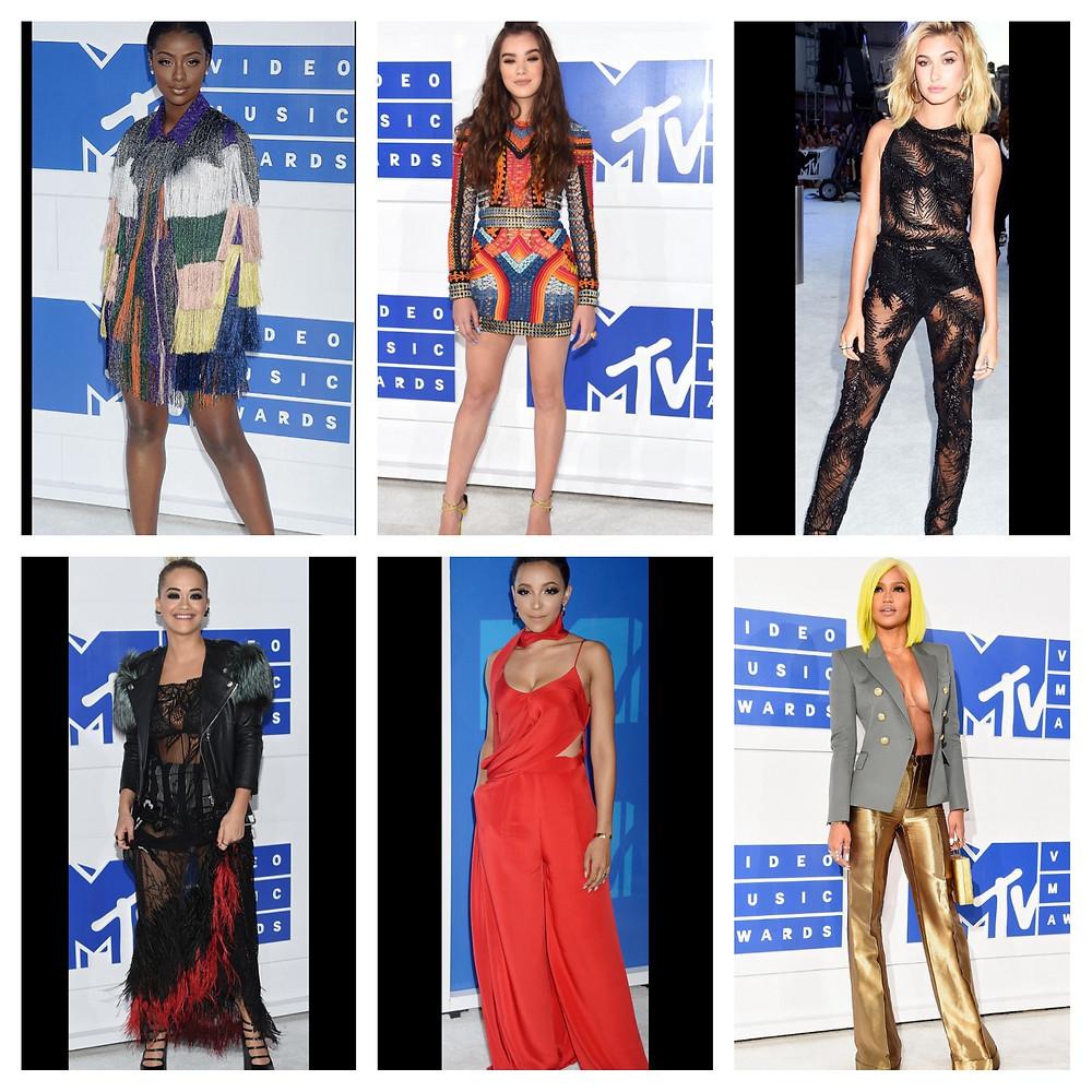 VMA Red carpet looks