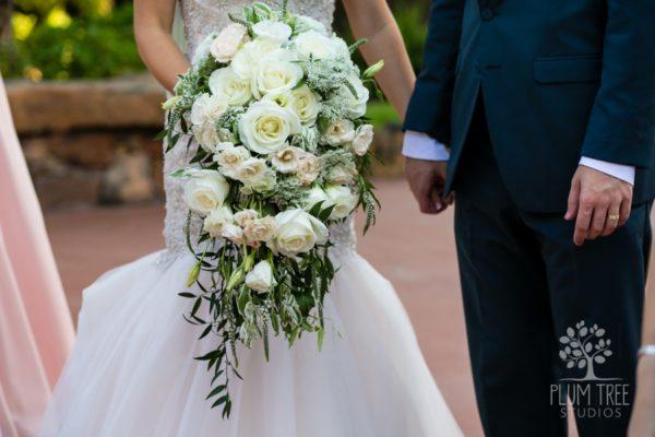Classic vs. Colorful Bridal Bouquets