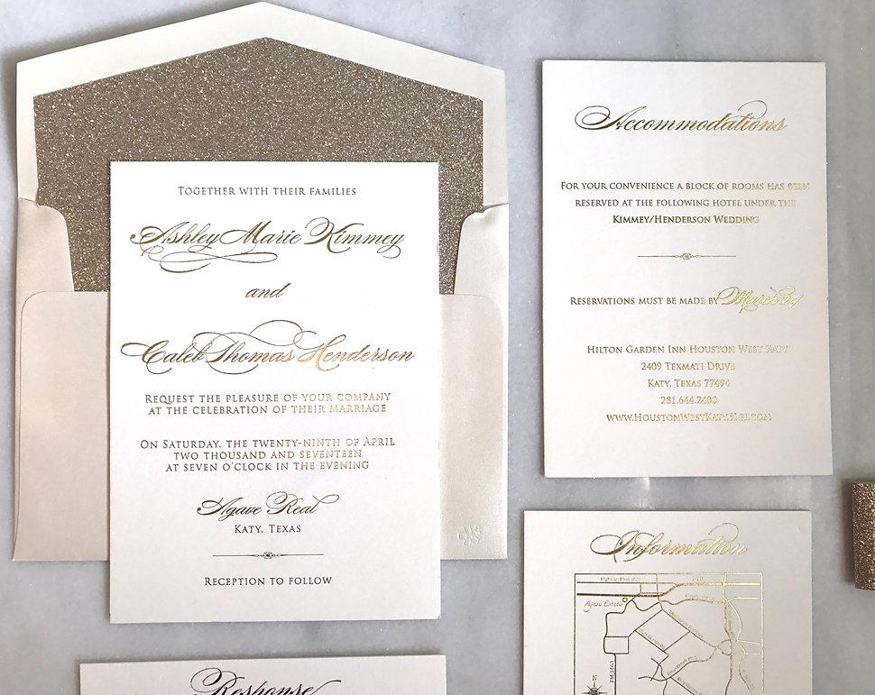 Bella Dia Stationery | Houston Wedding Invitations