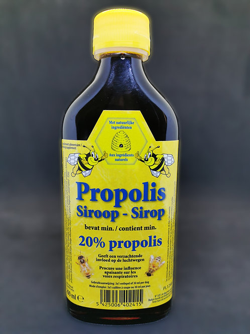 Sirop miel / propolis 20% (200ML)