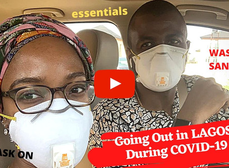 QUARANTINE VLOG: Safe Grocery Shopping in Lagos, Nigeria during COVID-19