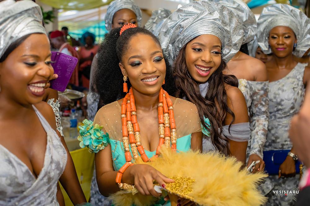 Chinju Nwankwo - Igbo Traditional Bride wine carrying