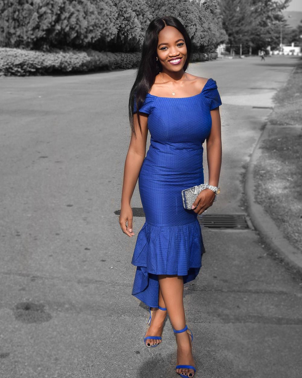Chinju Nwankwo - Ankara dress  - Bella Naija