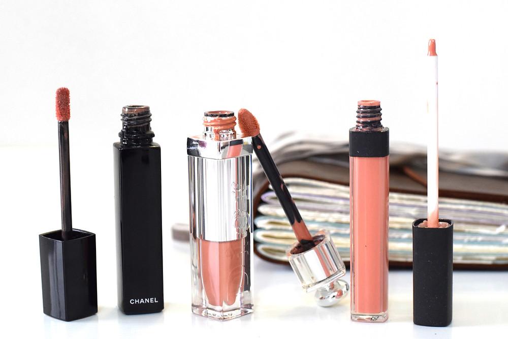 ATTICS by Chinju - Chanel, NARS , Dior - nude lipgloss