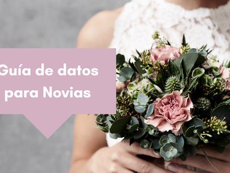 guía de datos para novias