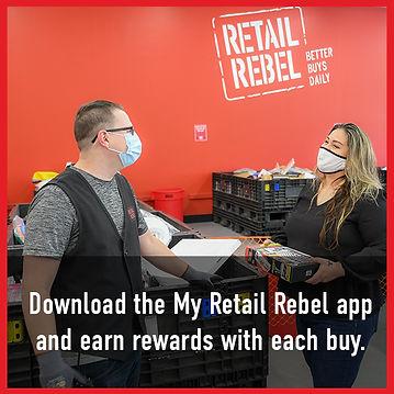 Download My Retail Rebel App Bargain Bin