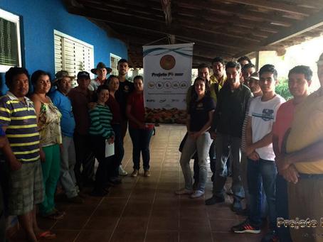 Projeto Pomar realiza visita ao assentamento Frei Tito