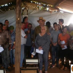 Projeto Pomar visita o assentamento 2 de Novembro, em Santana de Patos, distrito de Patos de Minas-M