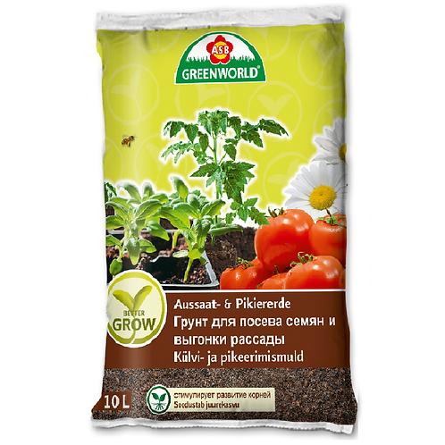 Грунт для посева семян и выгонки рассады 10л