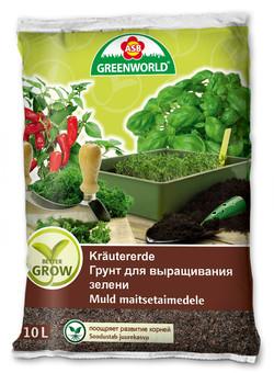 Грунт для выращивания зелени 10л.