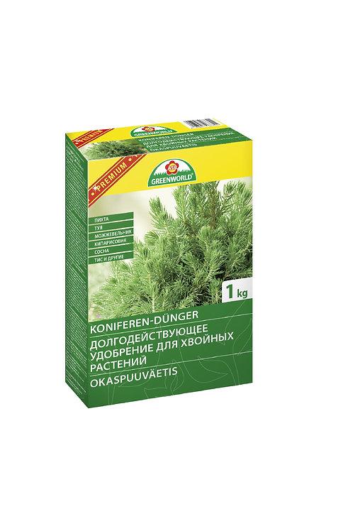 Долгодейств. удобрение для хвойных растений с магнием, 1 кг