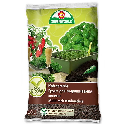 Грунт для  выращивания зелени 10л