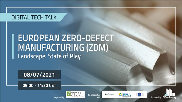 European Zero-Defect Manufacturing (ZDM) Landscape: State of Play