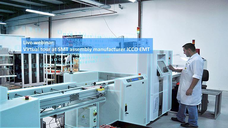 Virtual tour at SMT assembly manufacturer ICCO EM