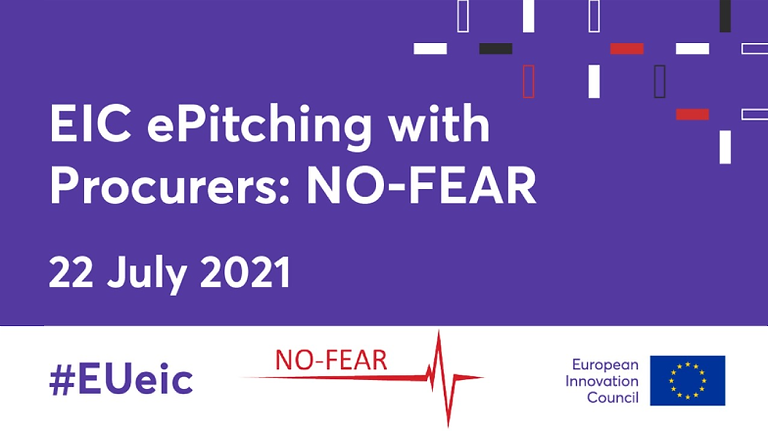 EIC ePitching with Procurers: NO-FEAR
