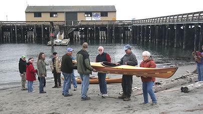 Launching the new class kayak