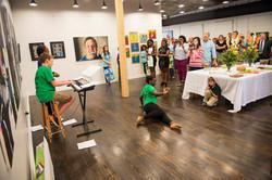 Studio 230 art gallery opening