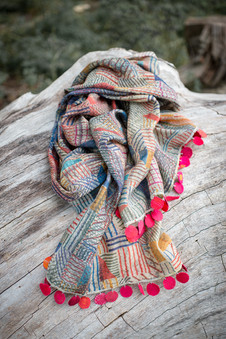 Double-Sided Scarves