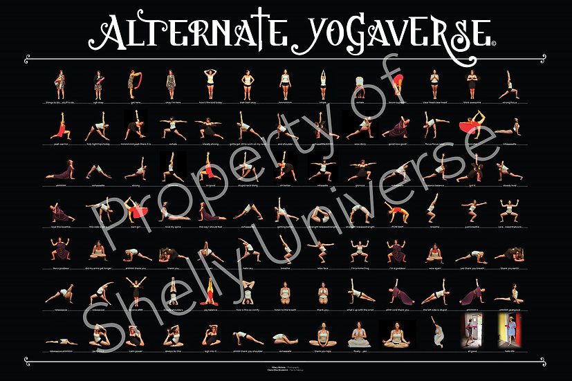 Alternate Yogaverse Poster