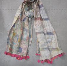 20.2/P.SCV.57 80cm X 180cm Cotton silk on both sides