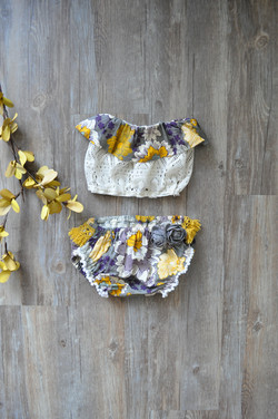 Ava Bloomers & Ruffle Top-Front