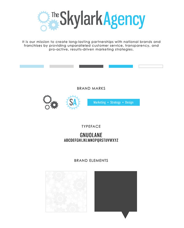 Addy Barnes | graphic design coorporate ID