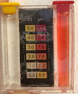 Medidor de pH e cloro livre