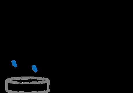 Figura que mostra as fórmulas para calcular o volume de piscinas