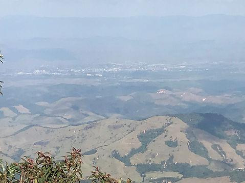 Vista de diversas propriedades rurais