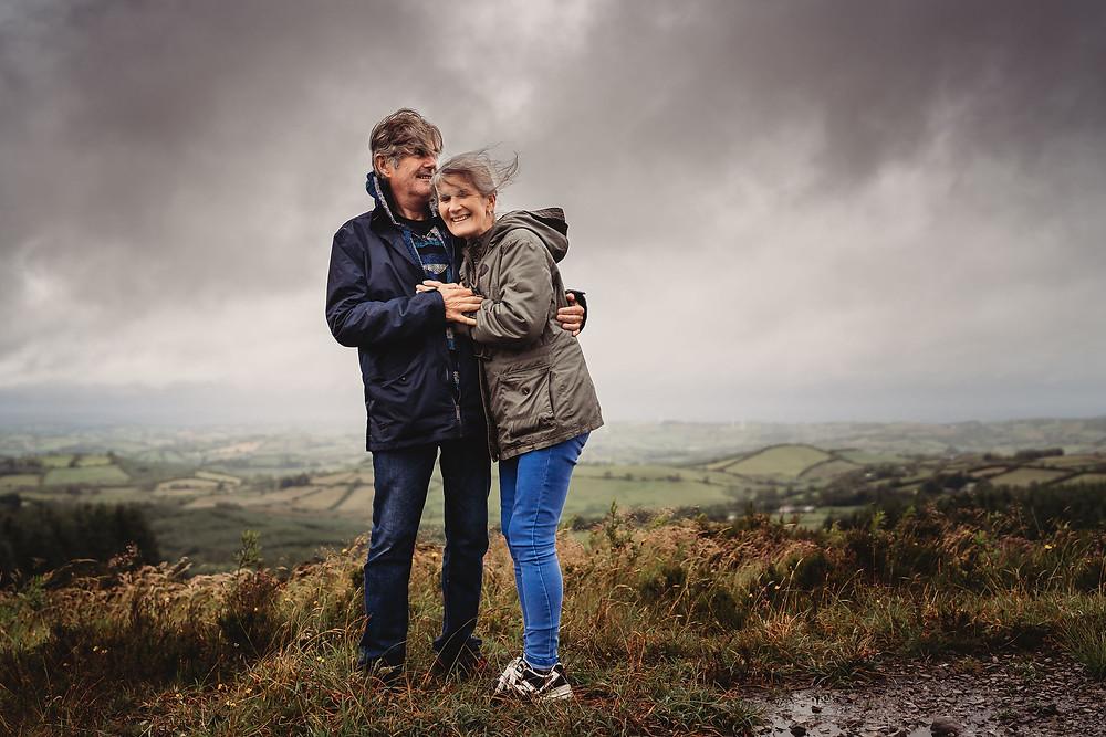 rainy day photoshoot Dublin