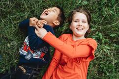Family photo shoot herbert park dublin