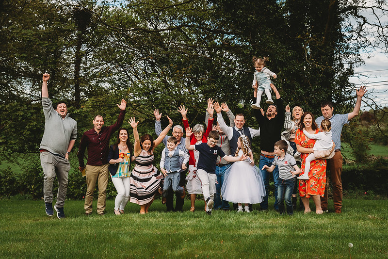 extended family photoshoot meath