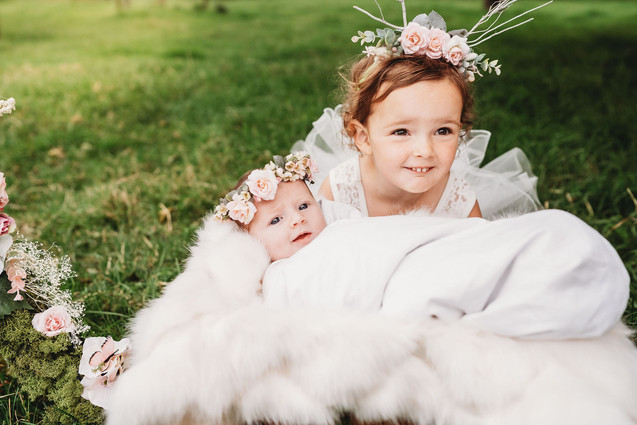 newborn photos for ring a rosie
