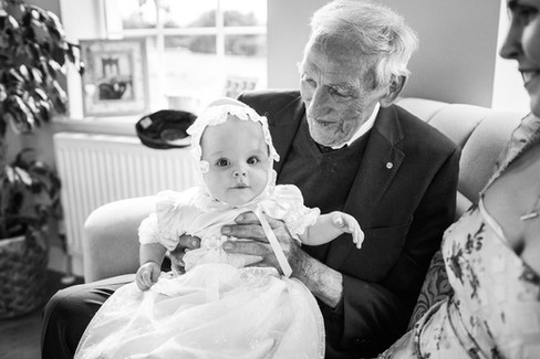 Great grandad and baby