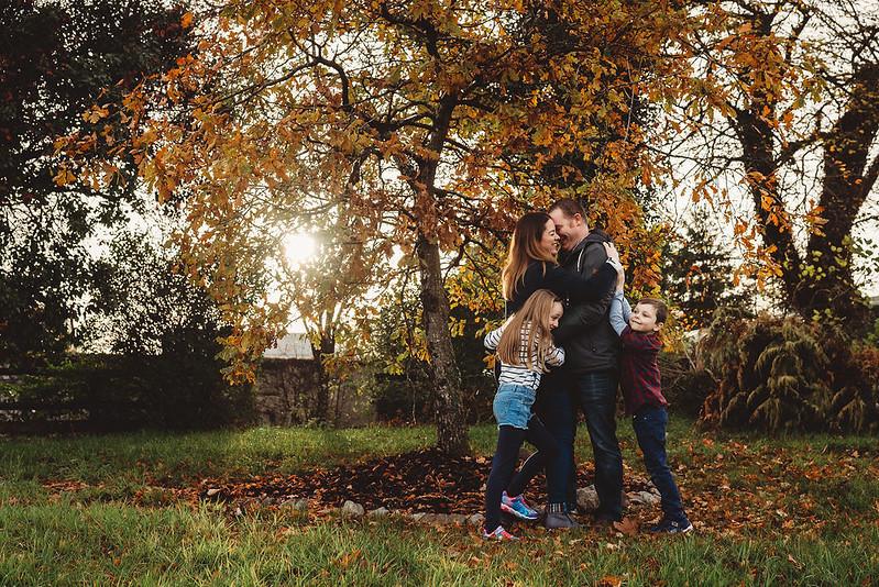 family autumn photo session