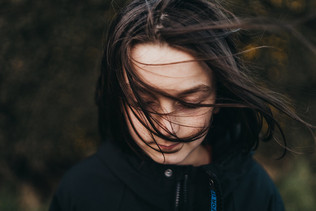 beautiful boy long hair