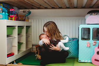 Newborn Lifestyle Photo session at home,
