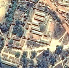 Vista aerea del KPCS (Kabanga Protectorate Center and School), Kigoma, Tanzania