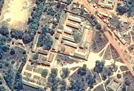 Vista aérea del KPCS (Kabanga Protectorate Center and School), Kigoma,Tanzania